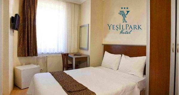3 yıldızlı Fatih Yeşilpark Hotel'de çift kişilik 1 gece konaklama seçenekleri! Fırsatın geçerlilik tarihi için DETAYLAR bölümünü inceleyiniz.