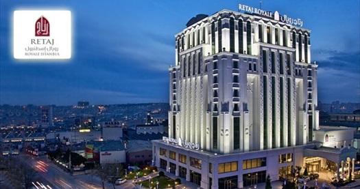 Güneşli Retaj Royale İstanbul'da çift kişilik 1 gece konaklama seçenekleri 124 TL'den başlayan fiyatlarla! Fırsatın geçerlilik tarihi için, DETAYLAR bölümünü inceleyiniz.