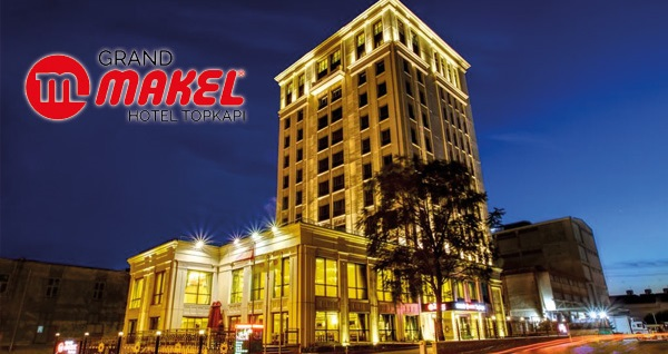 Topkapı Grand Makel Hotel'de çift kişilik 1 gece konaklama 249 TL! Fırsatın geçerlilik tarihi için DETAYLAR bölümünü inceleyiniz.