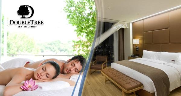 DoubleTree by Hilton Avcılar'da çift kişilik konaklama masaj ve açık büfe kahvaltı keyfi