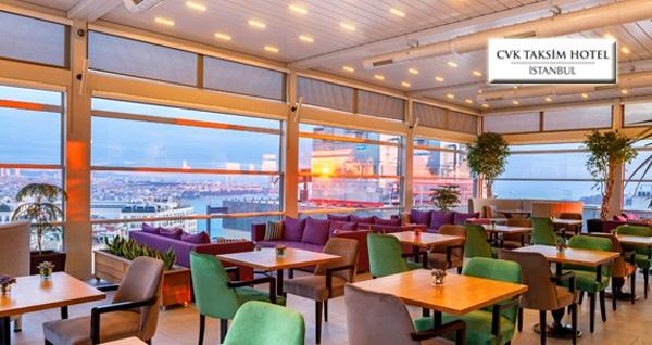 CVK Taksim Hotel'de lezzet dolu iftar menüsü 79 TL'den başlayan fiyatlarla! Bu fırsat 6 Mayıs - 3 Haziran 2019 tarihleri arasında, iftar saatinde geçerlidir.