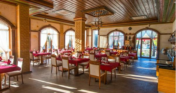Kapadokya Hill Hotel'de kahvaltı dahil çift kişilik 1 gece konaklama 179 TL'den başlayan fiyatlarla! Fırsatın geçerlilik tarihi için DETAYLAR bölümünü inceleyiniz.