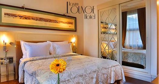 Taxim Lounge Hotel'de çift kişilik 1 gece konaklama seçenekleri 269 TL'den başlayan fiyatlarla! Fırsatın geçerlilik tarihi için DETAYLAR bölümünü inceleyiniz.