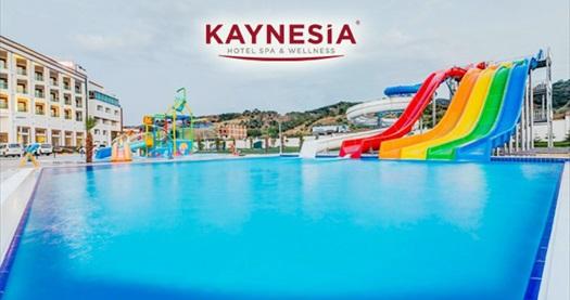 Turgutlu Kaynesia Hotel'de aquapark girişi ve 1 adet soft içecek kişi başı 29,90 TL'den başlayan fiyatlarla! Fırsatın geçerlilik tarihi için DETAYLAR bölümünü inceleyiniz.