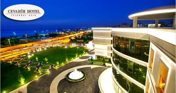 Cevahir Hotel İstanbul Asia'da çift kişilik 1 gece konaklama ve spa keyfi