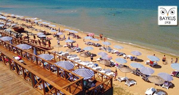 Mimar Sinan Güzel Sanatlar Üniversitesi Baykuş Plajı'na hafta içi giriş 30 TL! Fırsatın geçerlilik tarihi için DETAYLAR bölümünü inceleyiniz.