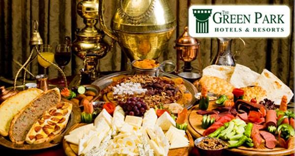 The Green Park Bostancı Otel'de açık büfe iftar menüsü 79 TL! Bu fırsat 6 Mayıs - 3 Haziran 2019 tarihleri arasında, iftar saatinde geçerlidir.