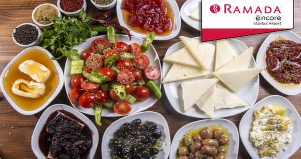 Ramada Encore Istanbul Airport Hotel'de açık büfe kahvaltı 34,90 TL! Fırsatın geçerlilik tarihi için DETAYLAR bölümünü inceleyiniz. Açık büfe kahvaltı Pazartesi-Cumartesi, 06:30 - 10:30, Pazar günü 06:30 – 11:00 saatleri arasında geçerlidir.