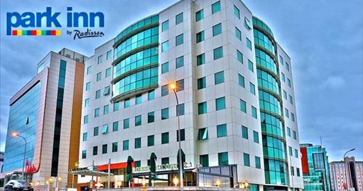 Park Inn by Radisson Kavacık'ta çift kişilik 1 gece konaklama seçenekleri 349 TL'den başlayan fiyatlarla! Fırsatın geçerlilik tarihi için DETAYLAR bölümünü inceleyiniz.
