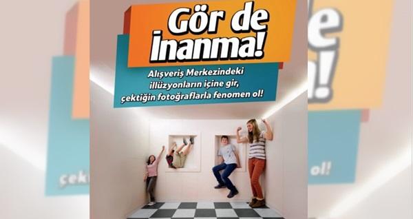 İzmir Balçova Ege Park Avm'de World of Illision için giriş biletleri 20 TL'den başlayan fiyatlarla! Fırsatın geçerlilik tarihi için DETAYLAR bölümünü inceleyiniz.