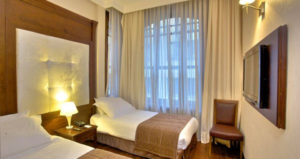 Şişli'nin görkemli hoteli Atik Palace Hotel'de kişi seçenekleri ile 1 gece konaklama keyfi! Fırsatın geçerlilik tarihi için DETAYLAR bölümünü inceleyiniz.