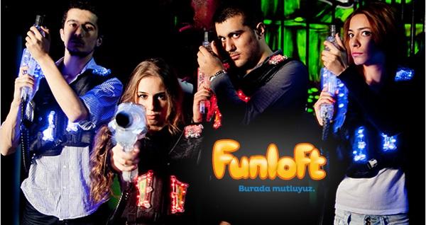 Eğlenceli dakikalar sizi bekliyor! Eğlenceli dakikalar sizi bekliyor! Zorlu Center Funloft'ta 18 dakikalık Lazer Tag oyununa giriş 20 TL! Fırsatın geçerlilik tarihi için DETAYLAR bölümünü inceleyiniz. Zorlu Center Funloft haftanın her günü 10:00 - 22:00 saatleri arasında hizmet vermektedir.