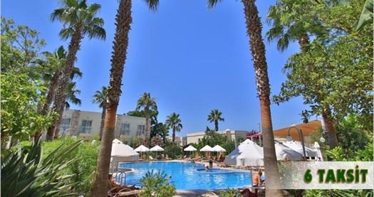 """Bodrum Mandarin Resort Hotel'de uçakla ULAŞIM DAHİL kişi başı 3 veya 4 gecelik HER ŞEY DAHİL konaklama 579 TL'den başlayan fiyatlarla! 28 Ağustos 2016 tarihine kadar geçerlidir. """"FARKLI FİYATLARDAKİ TARİH OPSİYONLARI İÇİN """"HEMEN AL""""A TIKLAYIN."""""""