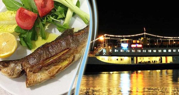 Ege Denizi'ne nazır ziyafet! Efes Gemi Restaurant'ta yerli içecek eşliğinde çift kişilik balık menüsü 139,90 TL! Fırsatın geçerlilik tarihi için, DETAYLAR bölümünü inceleyiniz.