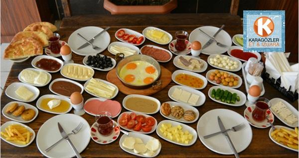 Karagözler Et & Izgara & Şarküteri'de serpme kahvaltı 9,90 TL'den başlayan fiyatlarla! Fırsatın geçerlilik tarihi için DETAYLAR bölümünü inceleyiniz.