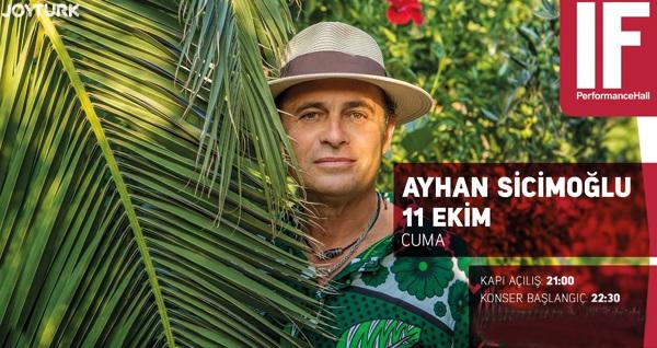 11 Ekim'de IF Performance Hall Ataşehir Sahnesi'nde gerçekleşecek Ayhan Sicimoğlu şovuna biletler 77 TL yerine 53 TL! 11 Ekim 2019   22:30   IF Performance Hall Ataşehir