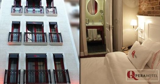 Beyoğlu Q Pera Hotel'de kahvaltı dahil çift kişilik 1 gece konaklama 99 TL'den başlayan fiyatlarla! Fırsatın geçerlilik tarihi için, DETAYLAR bölümünü inceleyiniz.