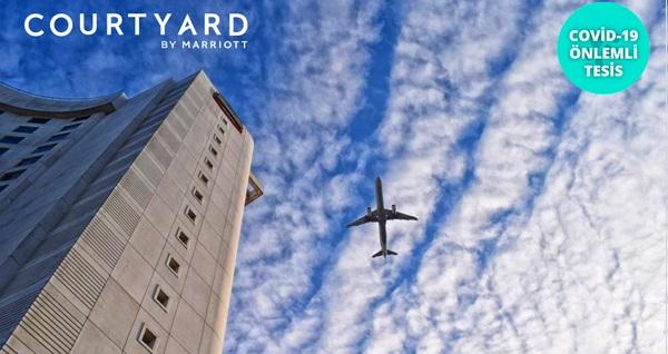Courtyard by Marriott İstanbul West Hotel'de çift kişilik 1 gece konaklama seçenekleri 259 TL'den başlayan fiyatlarla! Fırsatın geçerlilik tarihi için DETAYLAR bölümünü inceleyiniz.