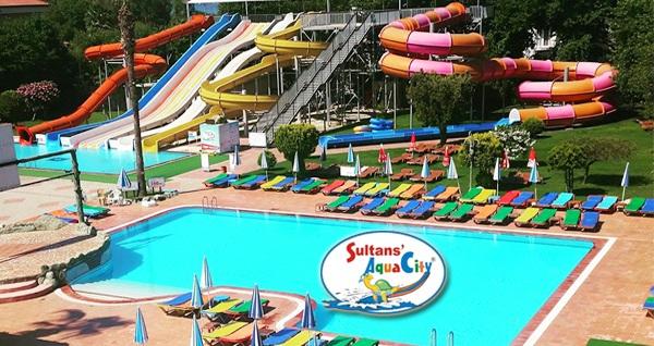 Fethiye Sultans' Aqua City'de havuz girişi 39 TL'den başlayan fiyatlarla! Fırsatın geçerlilik tarihi için DETAYLAR bölümünü inceleyiniz.