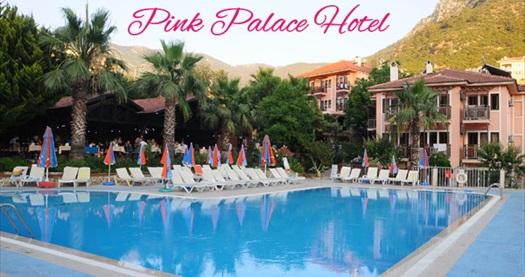 Fethiye Club Pink Palace Hotel'de çift kişilik 1 gece HER ŞEY DAHİL konaklama 227 TL'den başlayan fiyatlarla! Tur kalkış tarihleri için, DETAYLAR bölümünü inceleyiniz.