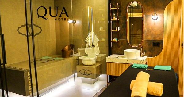 Qua Hotel & Spa'da tek/çift kişilik VIP masaj paketleri 329 TL'den başlayan fiyatlarla! Fırsatın geçerlilik tarihi için DETAYLAR bölümünü inceleyiniz.