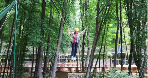Türkiye'nin en büyük açık alanına sahip macera & etkinlik parkı Forest Kemerburgaz'a giriş biletleri 33 TL'den başlayan fiyatlarla! Fırsatın geçerlilik tarihi için DETAYLAR bölümünü inceleyiniz.