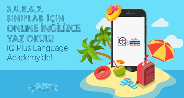 Iq Plus Language Academy'de 3. 4. 5. 6. ve 7. sınıflar için 12 derslik  İngilizce Yaz Okulu