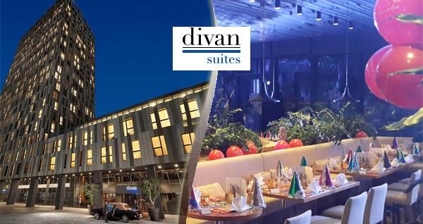 Şehrin dinamizmini yansıtan Divan Suites Istanbul GPlus'da limitsiz yerli içecek eşliğinde yılbaşı menüsü ve konaklama seçenekleri 229 TL'den başlayan fiyatlarla! Fırsatın geçerlilik tarihi için DETAYLAR bölümünü inceleyiniz.