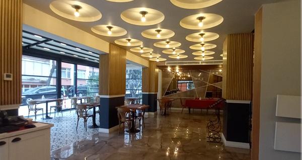 Bakırköy Taşhan Business & Airport Hotel'de kahvaltı seçenekleri 24,50 TL'den başlayan fiyatlarla! Fırsatın geçerlilik tarihi için DETAYLAR bölümünü inceleyiniz.