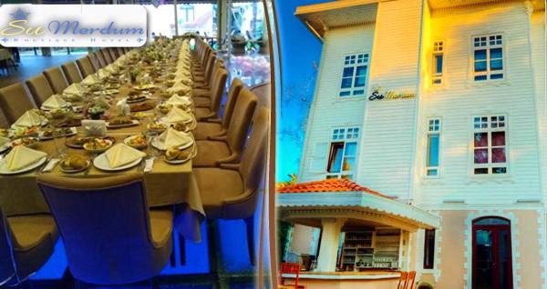 Beylerbeyi Su Merdum Hotel Hasbahçe'de serpme ve 150 çeşitten oluşan açık büfe kahvaltı keyfi 39,90 TL'den başlayan fiyatlarla! Fırsatın geçerlilik tarihi için DETAYLAR bölümünü inceleyiniz.