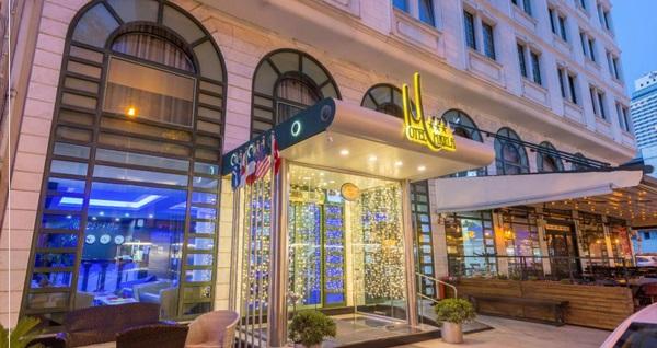 Pasaport'un modern, lüks ve yepyeni adresi Otel Marla'da çift kişilik 1 gece kahvaltı dahil konaklama 319 TL! Fırsatın geçerlilik tarihi için DETAYLAR bölümünü inceleyiniz.