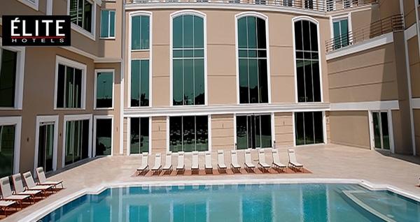 Elite Hotel Darıca Elam Spa'da ıslak alan kullanımı dahil havuz girişi 49 TL'den başlayan fiyatlarla! Fırsatın geçerlilik tarihi için DETAYLAR bölümünü inceleyiniz.