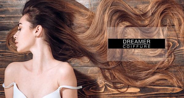 Dreamer Coiffure'in profesyonel ekibi eşliğinde saç bakım uygulamaları 49 TL'den başlayan fiyatlarla! Fırsatın geçerlilik tarihi için DETAYLAR bölümünü inceleyiniz.