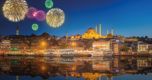 Yılbaşına özel İzmir hareketli Sultanahmet ya da Pierre Loti Tepesi konaklamalı İstanbul turu gidiş dönüş uçak bileti ve transferler dahil kişi başı 299 TL'den başlayan fiyatlarla! Tur kalkış tarihleri için, DETAYLAR bölümünü inceleyiniz.