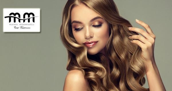 Üsküdar M&M Saç Tasarım'da ombre, keratin botoks, dip boya ve saç kesimi uygulamaları 89 TL'den başlayan fiyatlarla! Fırsatın geçerlilik tarihi için, DETAYLAR bölümünü inceleyiniz.