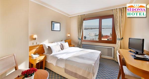 Kadıköy Sidonya Hotel'de kahvaltı dahil çift kişilik 1 gece konaklama 269 TL! Fırsatın geçerlilik tarihi için DETAYLAR bölümünü inceleyiniz.