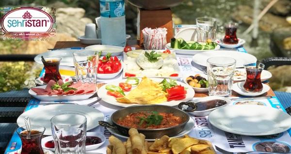 Bakırköy Şehristan Cafe & Restaurant'ta sınırsız çay eşliğinde serpme kahvaltı keyfi 47 TL yerine 28  TL! Fırsatın geçerlilik tarihi için DETAYLAR bölümünü inceleyiniz.