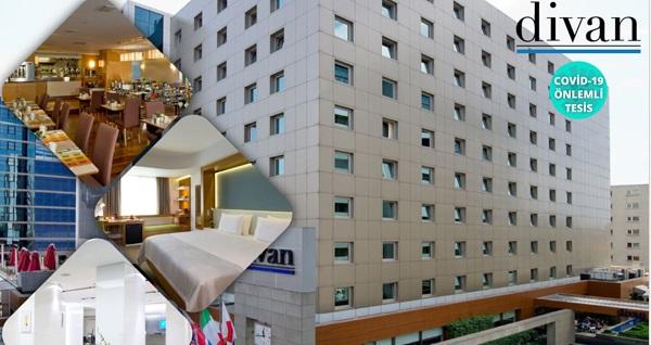 Divan İstanbul City Hotel'de çift kişilik konaklama ve SPA kullanımı seçenekleri