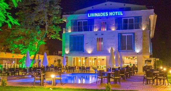 Doğanın kalbinde Limnades Hotel İznik'te çift kişilik 1 gece konaklama seçenekleri 249 TL'den başlayan fiyatlarla! Fırsatın geçerlilik tarihi için, DETAYLAR bölümünü inceleyiniz.