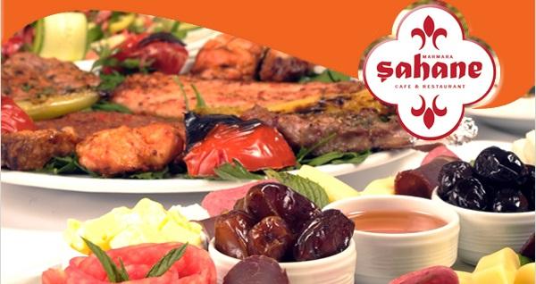Kadıköy Marmara Şahane Cafe & Restaurant'ta leziz iftar menüsü 65 TL yerine 45 TL! Bu fırsat 6 Mayıs - 3 Haziran 2019 tarihleri arasında, iftar saatinde geçerlidir.