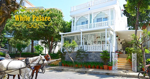 Büyükada White Palace Hotel'in farklı odalarında kahvaltı hariç çift kişilik 1 gece konaklama keyfi 149 TL'den başlayan fiyatlarla! Fırsatın geçerlilik tarihi için DETAYLAR bölümünü inceleyiniz.