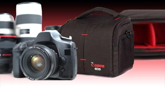 Fotoğrafçının olmazsa olmaz aksesuarı Canon ve Nikon için tam donanımlı DSLR çantalar 89 TL yerine 39 TL! Canon ve Nikon seçenekleriyle tüm Türkiye'ye ÜCRETSİZ kargo hizmeti vardır.