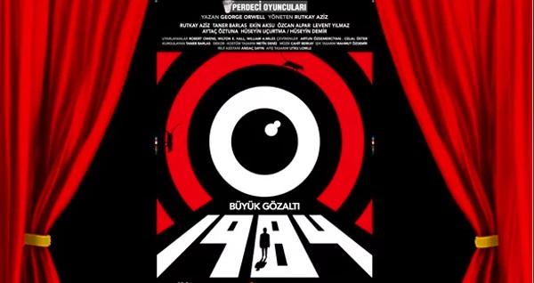 """""""1984 - Büyük Gözaltı"""" tiyatro oyunu için biletler 52 TL'den başlayan fiyatlarla! Tarih ve konum seçimi yapmak için """"Hemen Al"""" butonuna tıklayınız."""