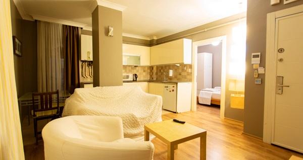 The Gate Ataşehir Suites & Flats'ta çift kişilik 1 gece konaklama keyfi 119 TL'den başlayan fiyatlarla! Fırsatın geçerlilik tarihi için DETAYLAR bölümünü inceleyiniz.