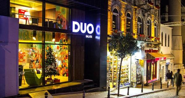 Beyoğlu Duo Galata Hotel'de Galata Kulesi manzaralı odalarda çift kişilik 1 gece konaklama seçenekleri 179 TL'den başlayan fiyatlarla! Fırsatın geçerlilik tarihi için, DETAYLAR bölümünü inceleyiniz. Fırsat özel günlerde geçerli değildir.