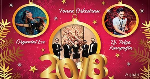 Burgu & Tango Arjaan by Rotana'da Yılbaşı Programı 269 TL'den başlayan fiyatlarla! Bu fırsat 31 Aralık 2017 Yılbaşı gecesi için geçerlidir.