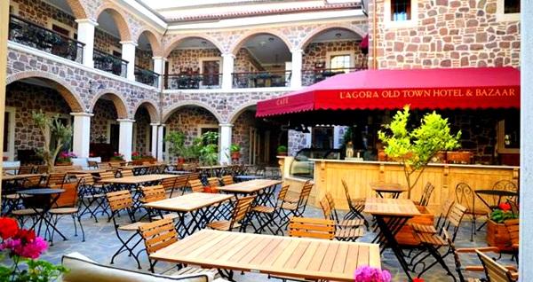 Konak L'agora Old Town Hotel & Bazaar'da sınırsız çay eşliğinde çift kişilik enfes serpme kahvaltı 59,90 TL! Fırsatın geçerlilik tarihi için, DETAYLAR bölümünü inceleyiniz.