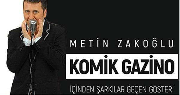 """Metin Zakoğlu'ndan alternatif ev konseri ''Komik Gazino'' etkinliği için biletler 79 TL yerine 40 TL! Tarih ve konum seçimi yapmak için """"Hemen Al"""" butonuna tıklayınız."""