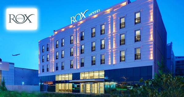 Bahçelievler Rox Hotel Airport'ta tek veya çift kişilik 1 gece konaklama seçenekleri 209 TL'den başlayan fiyatlarla! Fırsatın geçerlilik tarihi için DETAYLAR bölümünü inceleyiniz.