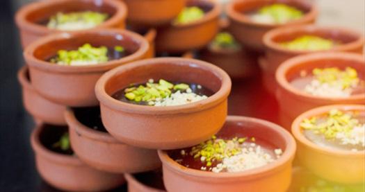 Ramada by Wyndham Ankara Otel Cafe Rosso Restaurant'ta tek kişilik açık büfe iftar menüsü 49,90 TL! 6 Mayıs - 3 Haziran 2019 tarihleri arasında, iftar saatinde geçerlidir.